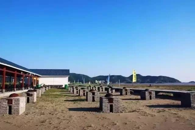 浙江岱山的鹿栏晴沙星空帐篷(星空酒店)