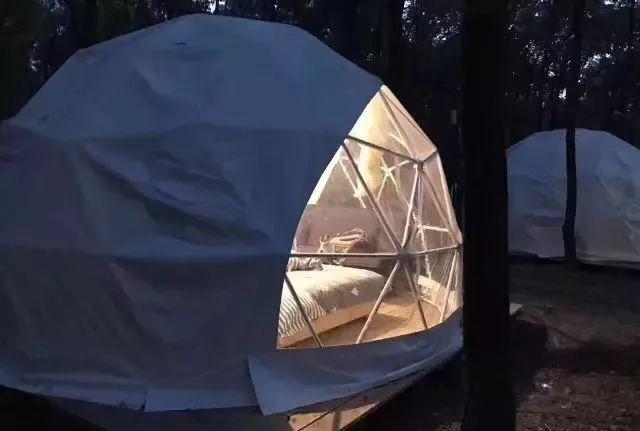 连云港东海森林温泉星空帐篷