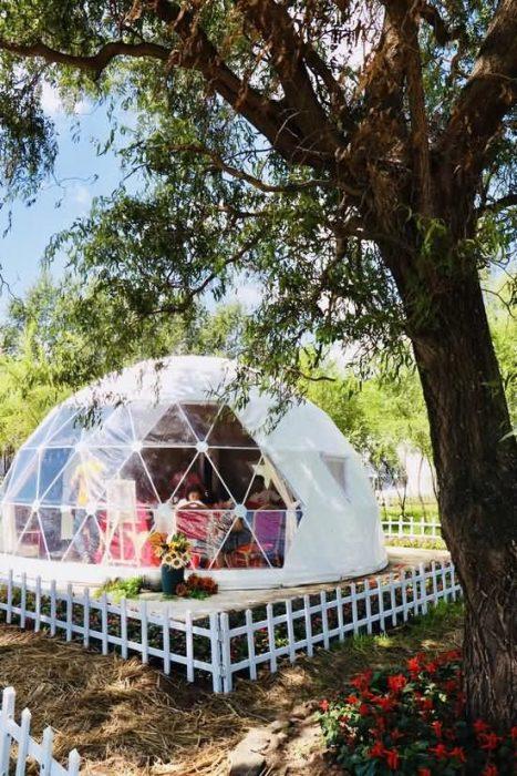 长春葵花园星空帐篷(星空酒店)