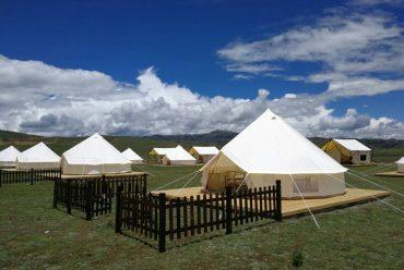 四川甘孜州理塘汉戈村星空帐篷(星空酒店)