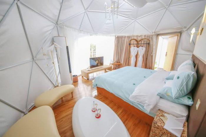 云南弥勒星空帐篷酒店
