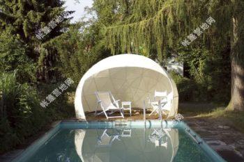 户外营地帐篷酒店 拓展活动球形帐篷Garden150