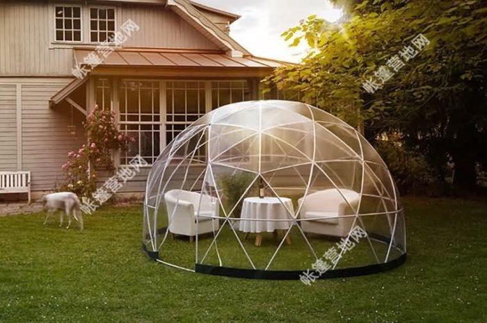 网红泡泡屋星空帐篷 户外餐厅透明帐篷Garden142