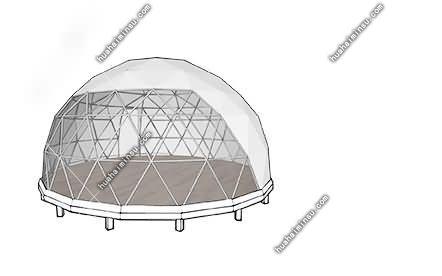 星空帐篷星空酒店设计