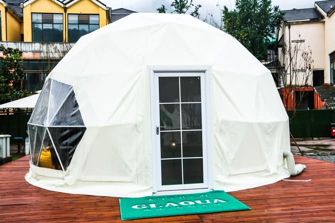 重庆冷水户外露营基地星空帐篷(星空酒店-球形帐篷)