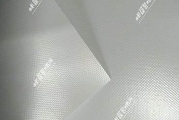 白色PVC篷布细节