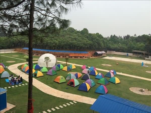 长沙月亮湾星空帐篷(星空酒店-球形帐篷)