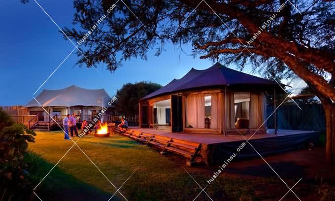 双峰露营帐篷-型号Glamping715