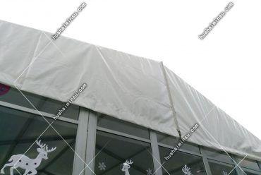 户外篷房,山墙展示
