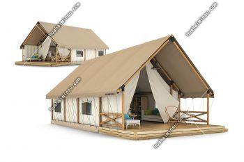 户外野餐烧烤民宿营地帐篷 景区野营露营帐篷(单峰露营帐篷)