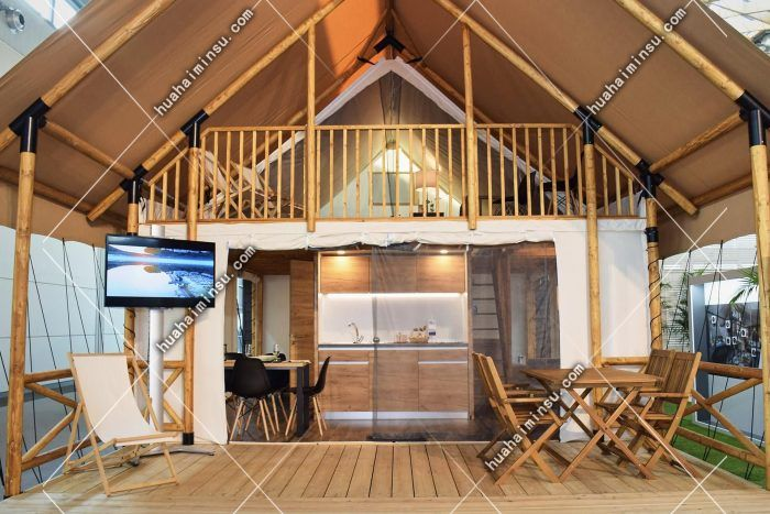 单峰露营帐篷-型号Glamping4984