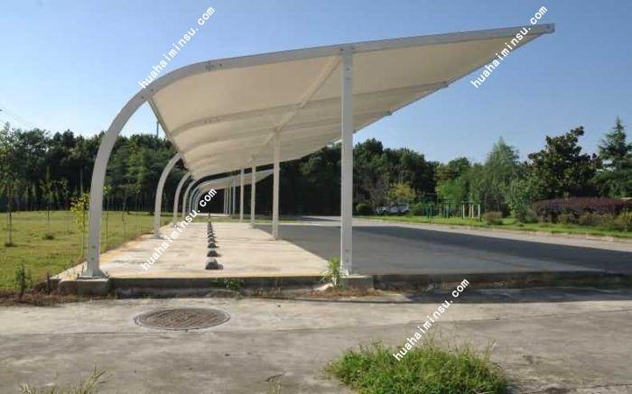 四川成都高档膜结构停车棚