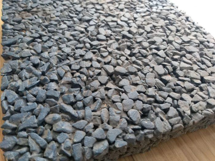 四川成都蓝色透水混凝土系列样板