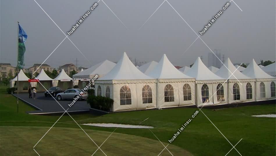 欧式尖顶帐篷,户外活动展览帐篷