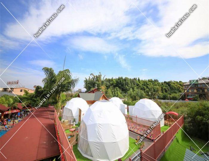 户外球形帐篷酒店