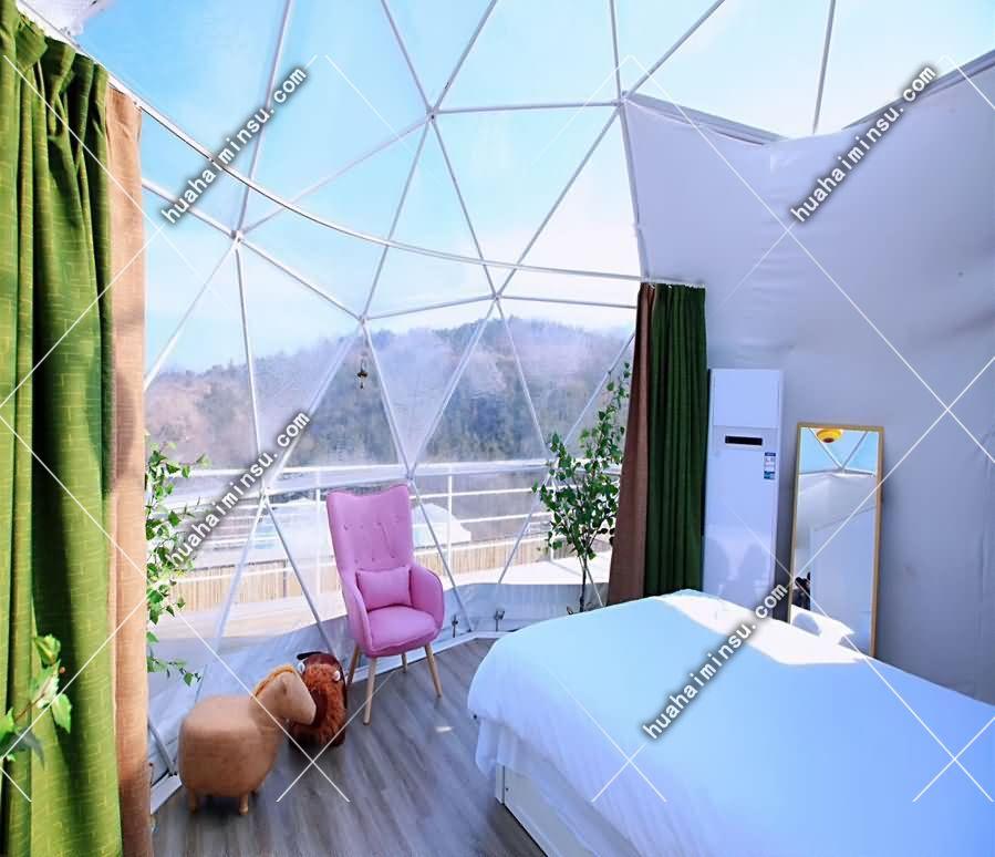 户外景区球形野奢帐篷