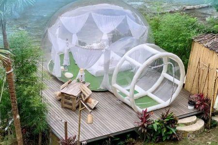 营地充气泡泡屋,充气帐篷