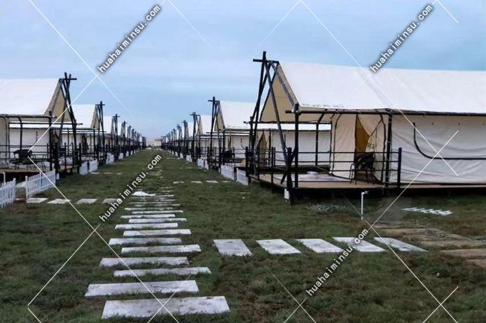 户外景区矩形营地帐篷