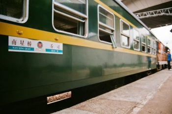 蒸汽机车回收,绿皮火车车厢回收,火车主题景观工程