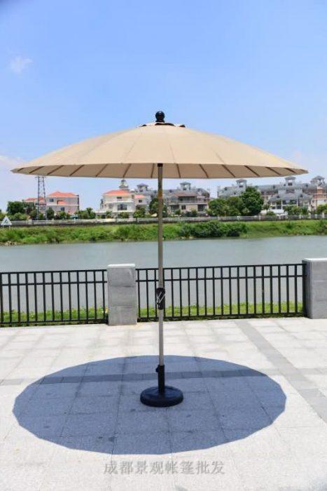 四川成都户外遮阳伞 老上海风格户外太阳伞