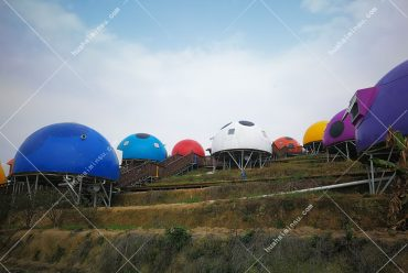 小朋友超级喜欢的七星瓢虫屋,户外景观帐篷酒店优价促销
