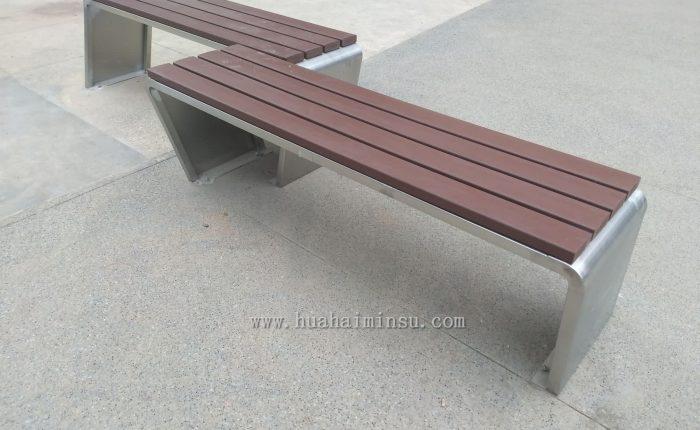 户外景观不锈钢坐凳,时尚现代耐用性价比高