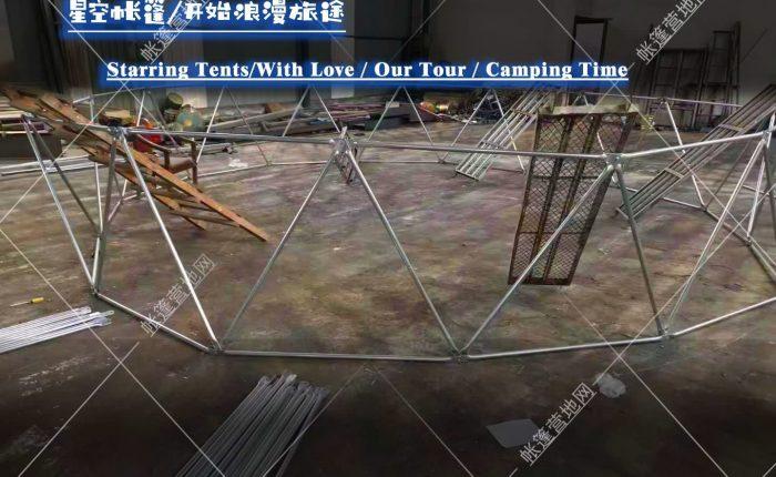 打造完美的星空帐篷,工厂实地拍摄