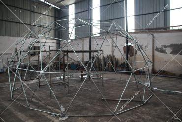 工厂实拍星空帐篷生产 设计生产酒店帐篷