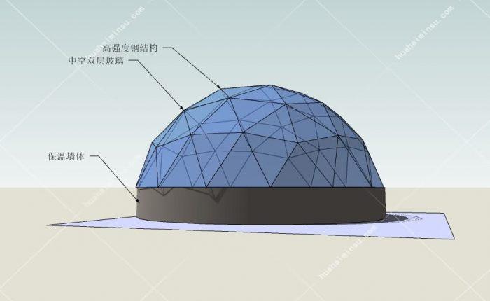 全景重型星空帐篷WST600,打造你的盈利、网红、高档大气上档次民宿必选