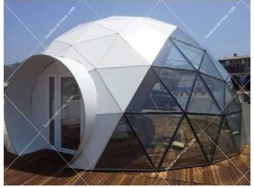 硬顶重型星空帐篷WST601,高颜值游客喜爱玻璃屋景区帐篷酒店