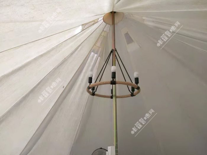 帆布帐篷装修