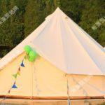户外露营野营帐篷 防水营地印第安帆布帐篷6-8人