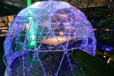 餐饮星空屋 网红户外球形星空帐篷
