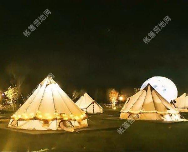 帆布帐篷案例