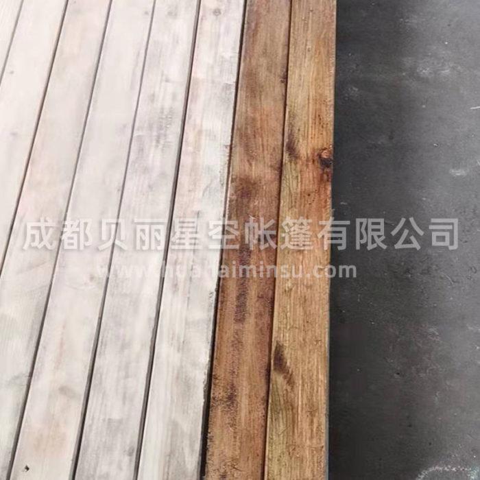 定制户外园林景观钢结构木平台