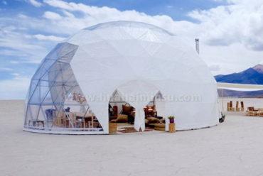 球形帐篷软门