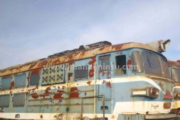二手蒸汽旧火车头,打造网红营地名宿最佳搭档