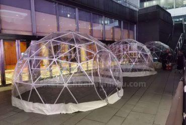 星空屋厂家教你搭建夜空中最美的星空房泡泡屋