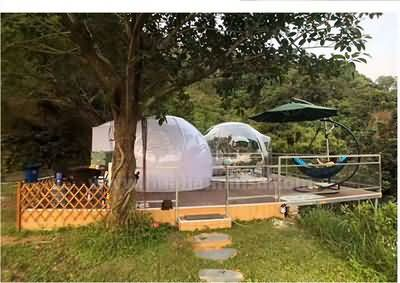 网红民宿酒店帐篷透明星空泡泡屋屋pc透明星空屋