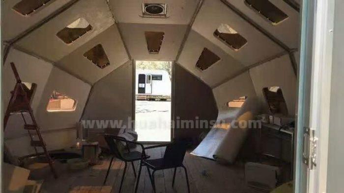 最流行的太空舱来了!打造一款网红星空房营地