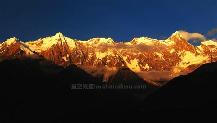 西藏林芝星空房泡泡屋,体验大峡谷与雪域高原