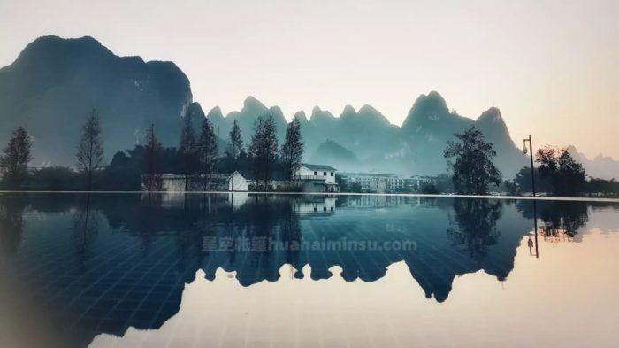 桂林漓江边船屋星空房、泡泡屋、天空之镜,一个都不能少