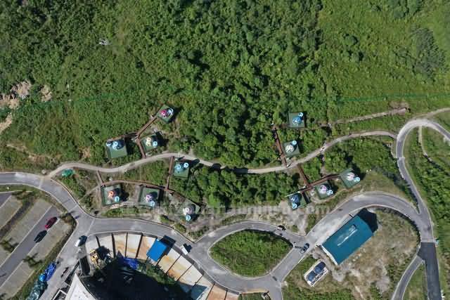 贵州崔苏坝玩转星空房泡泡屋,就在国际露营基地十二星座
