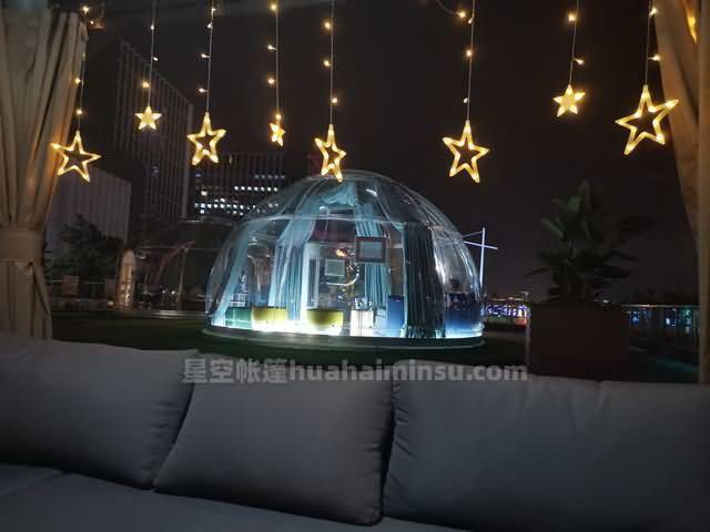 打卡广州塔星空房泡泡屋,180度江景赏都市繁华
